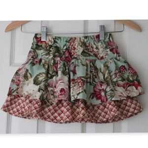 Exclusive Bella Bee Ruffle Floral Skirt